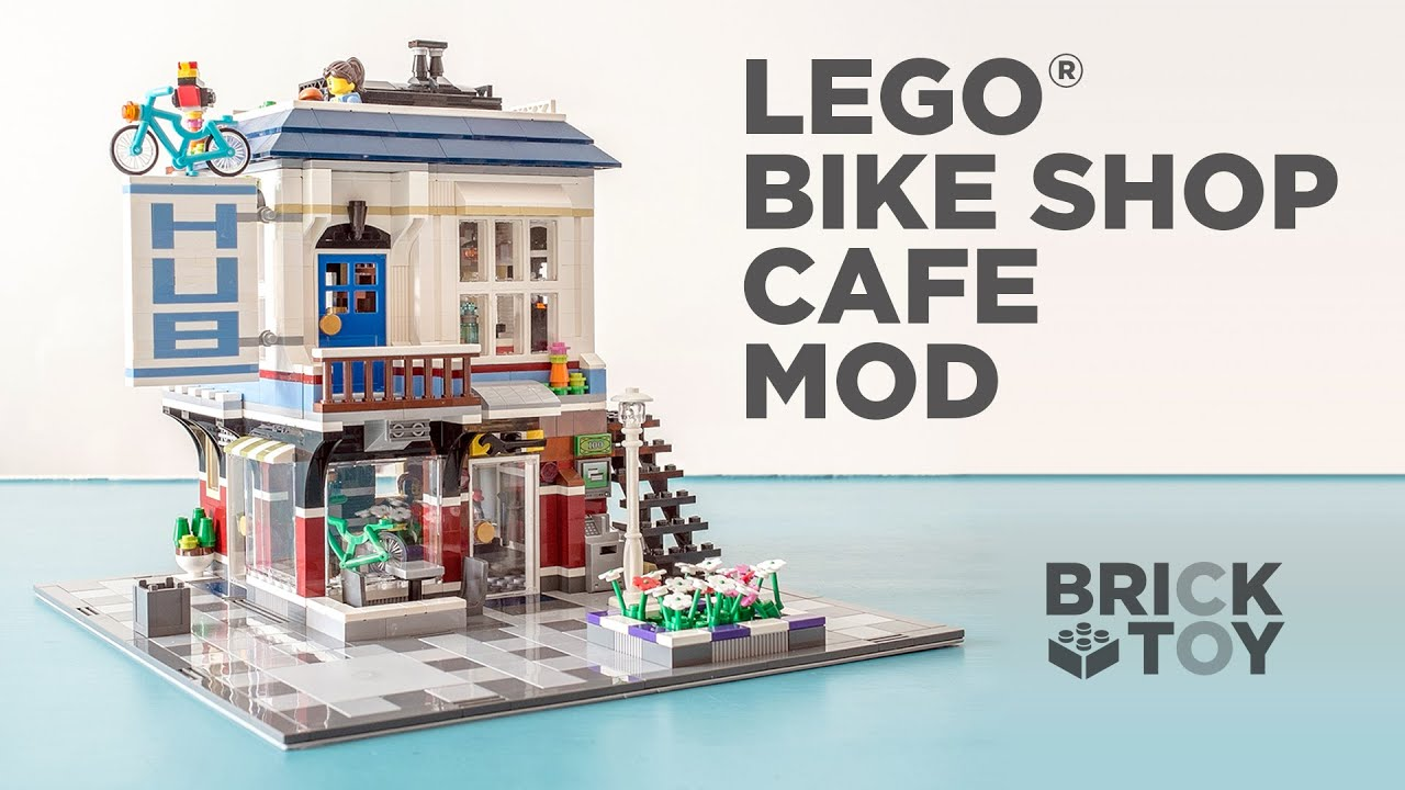 Lego Bike Shop And Cafe Video