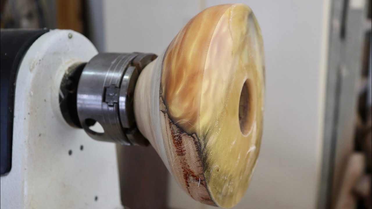 Wood Turning a Fire Bowl