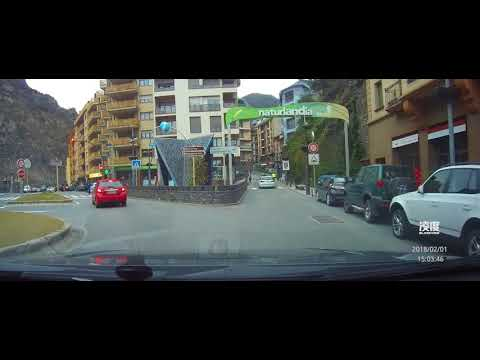 Spain to Andorra border 西班牙到安道尔过境