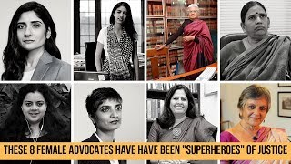 8 Women Advocates From India - Know these fearless legal crusaders India needs today!
