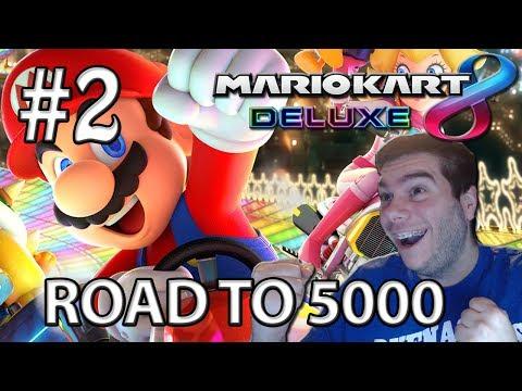 Mario Kart 8 Deluxe | ONLINE | Road to 5.000 puntos #2 (Nintendo Switch)