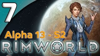 Rimworld Alpha 13 - 7. Growing a Greenhouse - Let's Play Rimworld Gameplay