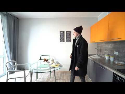 Видеообзор квартир-студий от Полины Бронз и Дениса Кондратенко