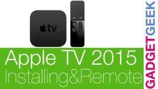 Apple TV 2015 (ATV4) Installing & Siri remote