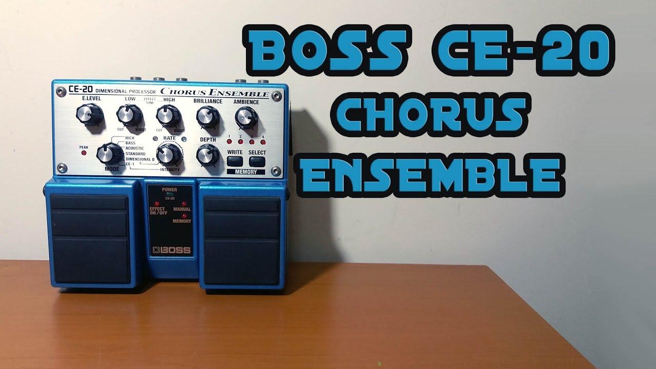 Boss Ce 20 : boss ce 20 chorus ensemble youtube ~ Vivirlamusica.com Haus und Dekorationen