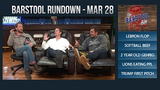 Barstool Rundown - March 28, 2017