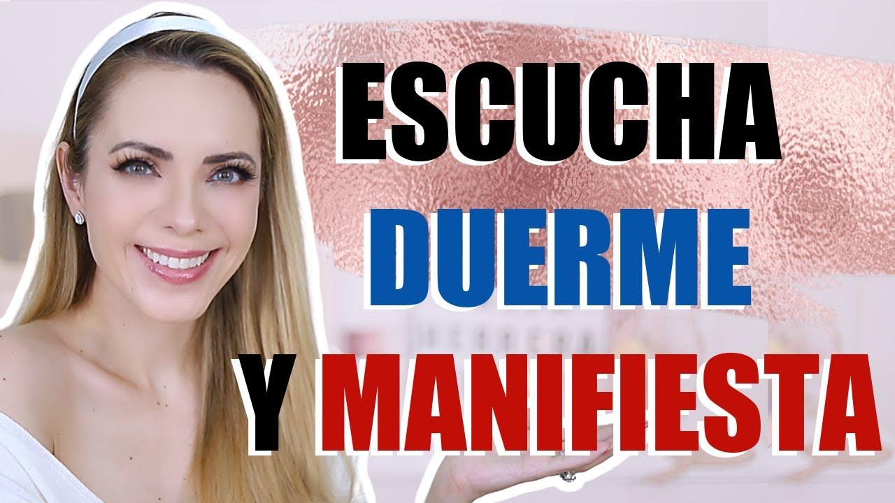 ¡HAZ ESTO CADA NOCHE ANTES DE DORMIR Y MANIFIESTA!