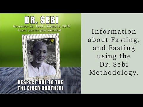 Dr. Sebi Fasting And Cleansing - Aqiyl Aniys