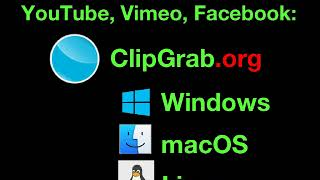 ClipGrab is a free video downloader