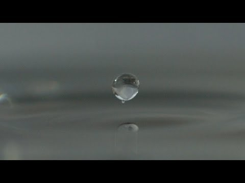 Surface Tension Droplets at 2500fps - The Slow Mo Guys