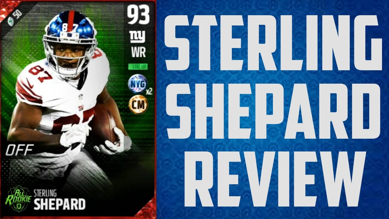 How Good Is 93 Overall Sterling Shepard Mut 17 Card Review