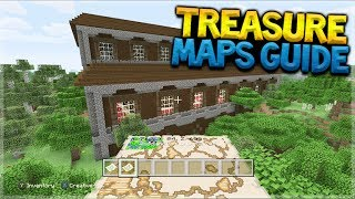 HOW TO FIND MANSIONS! Minecraft Console Edition - EASY Treasure Map Tutorial