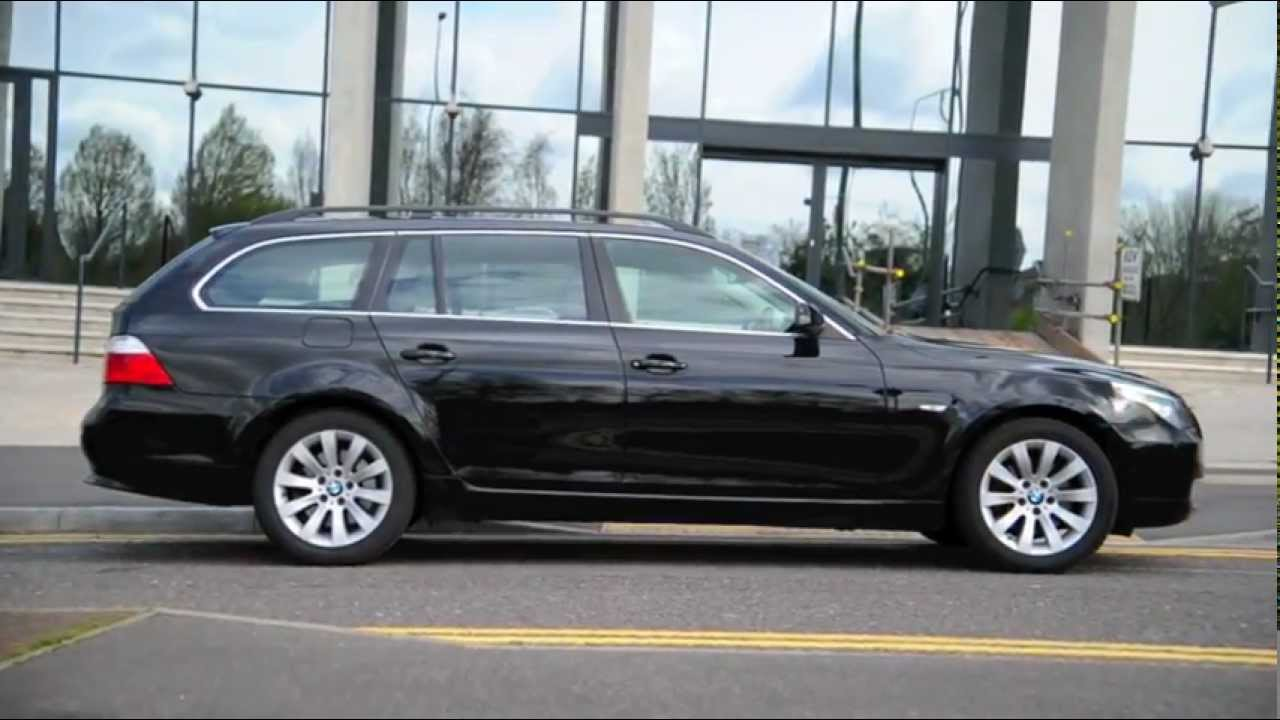 bmw e61 5 series touring 2008 520d lci model youtube. Black Bedroom Furniture Sets. Home Design Ideas