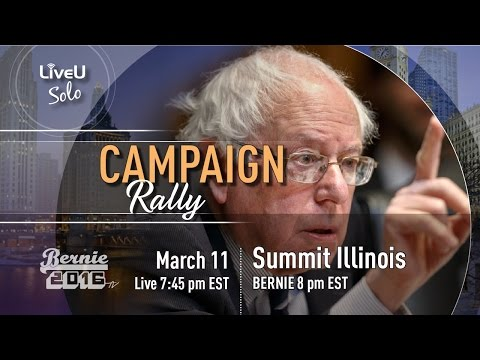 Bernie Sanders LIVE @ ARGO Community High School - Summit, Il