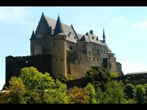 complete tour of VIANDEN CASTLE  Luxembourg