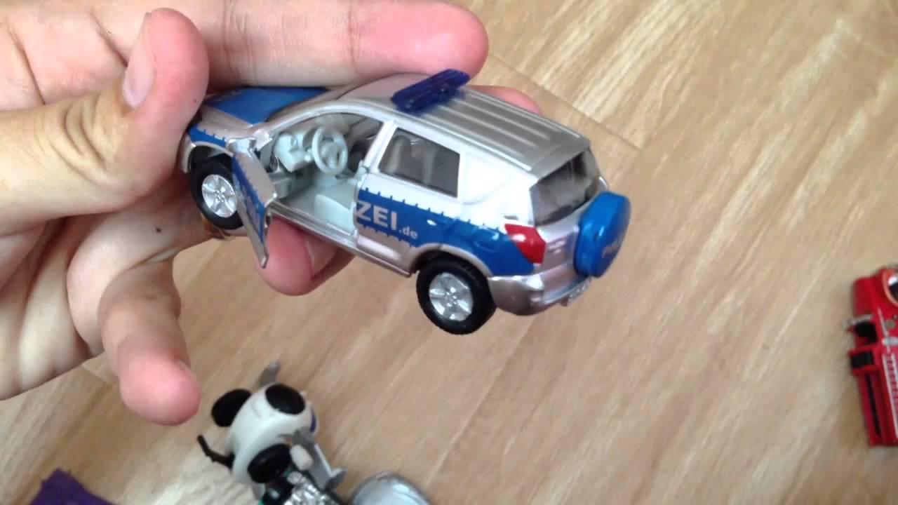 Siku 1403 Toyota Rav4 Off Road Polizei Police Car People Mover