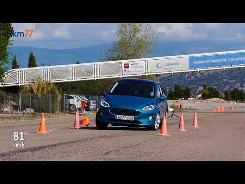 Ford Fiesta 2017 - Maniobra De Esquiva (moose Test) Y Eslalon | Km77.com
