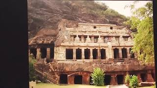 Undavalli caves travel video
