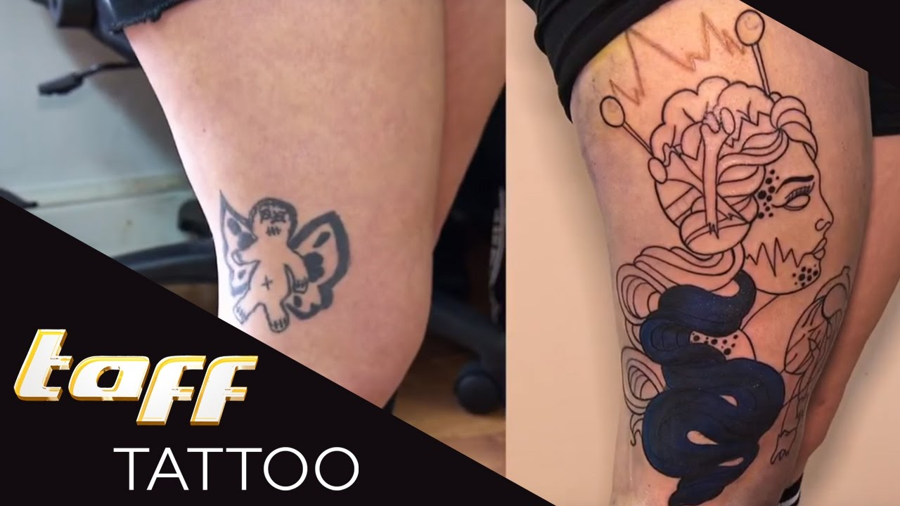 Dachdecker logo tattoo  COVER UP: Tattoo-PANNE nach einer langen PARTYNACHT | taff Tattoo ...