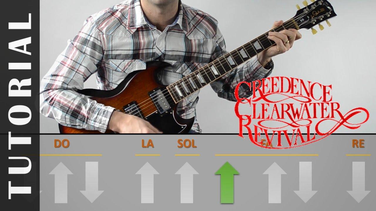 Como Tocar Proud Mary I Tutorial Guitarra I Pdf Gratis I Creedence