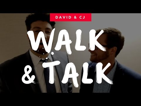 David and cj walk and talk
