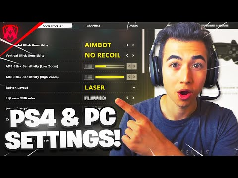 Best PRO PLAYER Settings in Cold War! (PC, PS4 and Xbox)