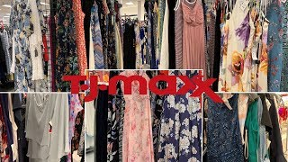 TJ Maxx Clothing   Designer Brands Gown Party Summer Plus Size Dresses   Shop With Me August 2019