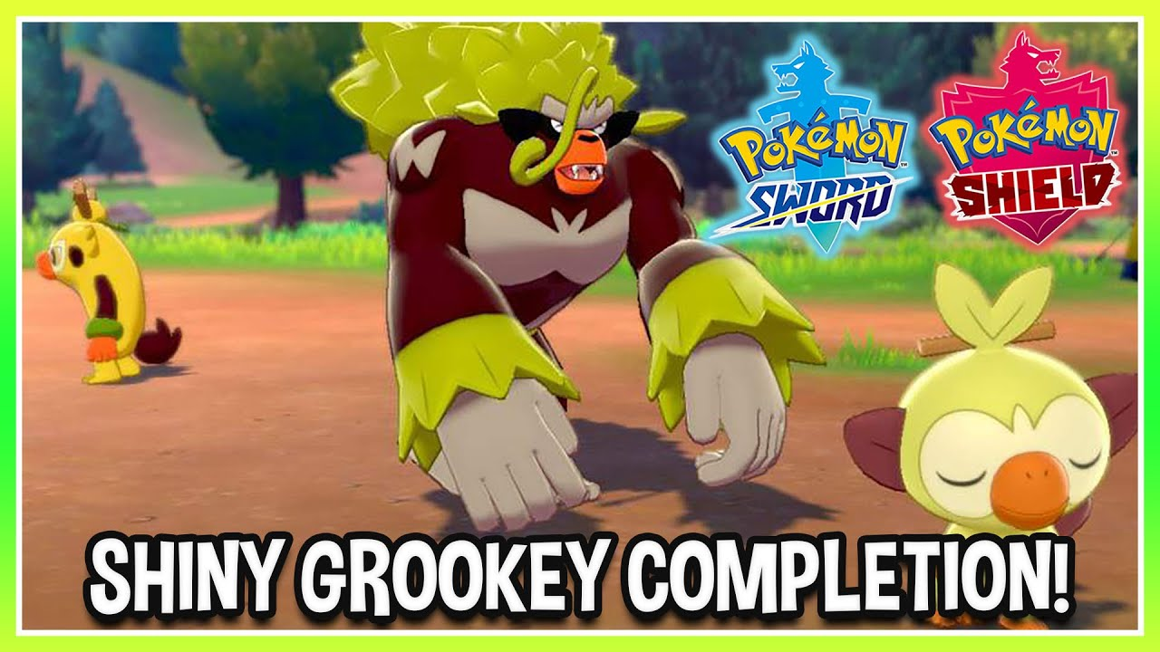 Grookey Shiny Line Completion In Pokemon Sword Shield Youtube This is for a ultra shiny starter grookey with perfect stats(6iv) and the best moves for pokemon sword and shield, it will be at level 1. grookey shiny line completion in pokemon sword shield