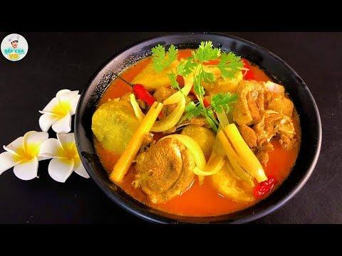 Cùng vào bếp với món CÀ RI VỊT nấu nước cốt dừa béo ngậy | Bếp Của Vợ
