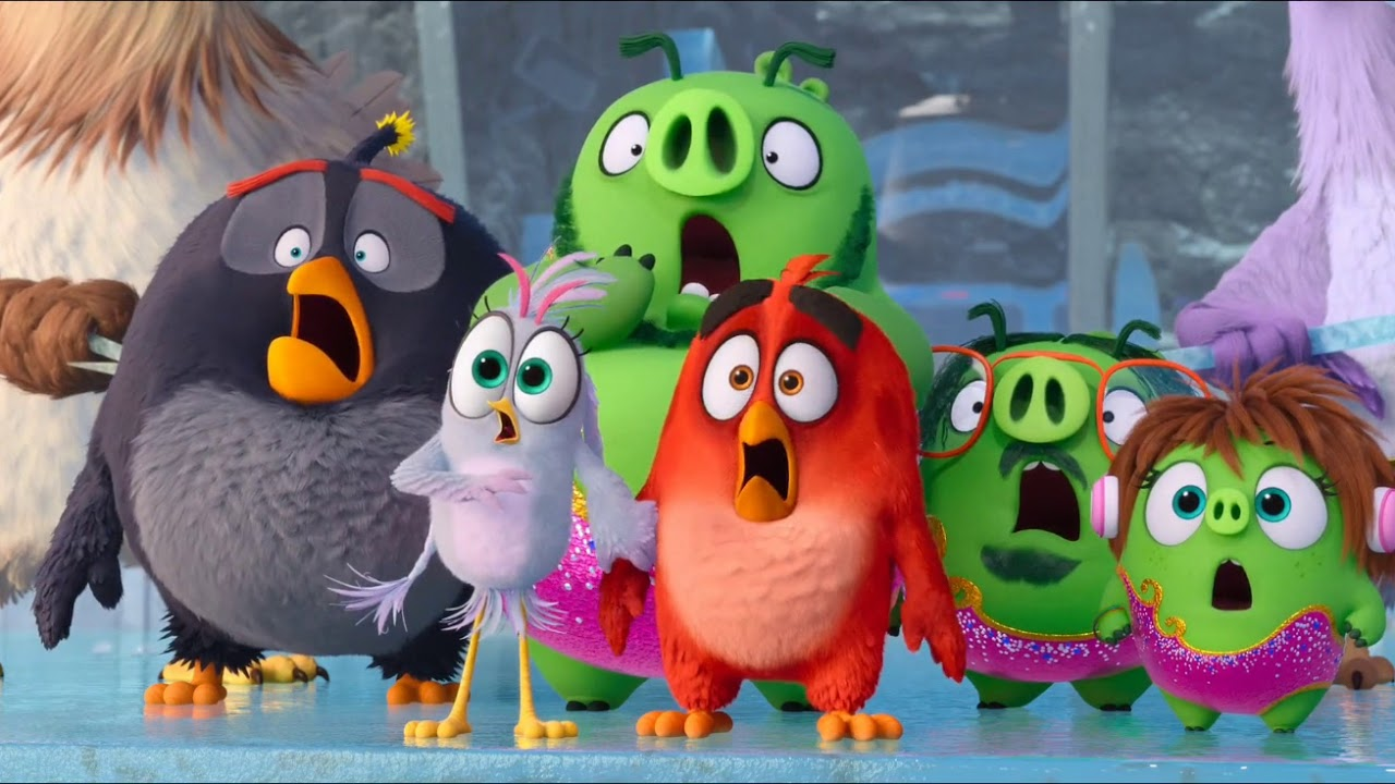 Everyone Run Mighty Eagle Stops Zeta The Angry Birds 2 Best