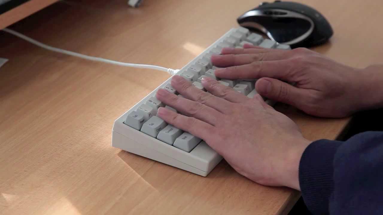 Reviewed Happy Hacking Keyboard Professional 2 Hhkb Pro 2 Youtube