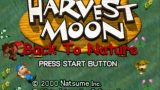 Gambar cover Harvest Moon: Back To Nature (Intro) - PS 1
