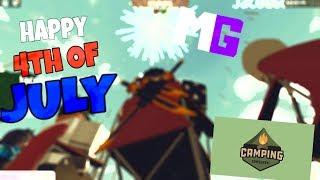 Roblox Camping (4 luglio speciale) - emozionale