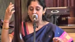 Gargee Siddhanta Dutta  @ Ames, USA  Concert performing Madhurashtakam