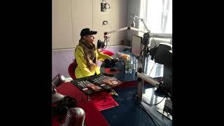 Тина Кароль в эфире Народного Радио в Минске.