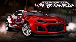 NFS Most Wanted | Chevrolet Camaro ZL1 Mod Gameplay [1440p60]