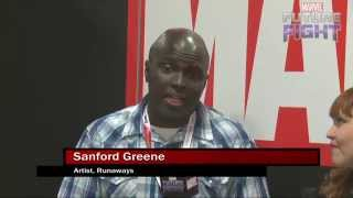 Sanford Greene Gives Career Advice for Marvel LIVE! at San Diego Comic-Con 2015