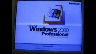 windows 2000 startup and shutdown