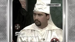 Throwback: Jerry Springer Confronts The KKK
