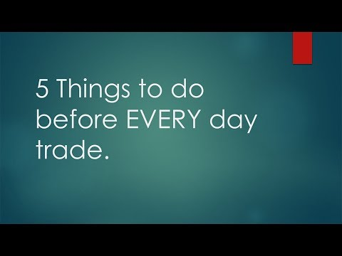 How to make a living trading cryptocurrency episode 2! 5 things to do before EVERY trade!