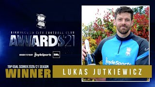 PA21 | Lukas Jutkiewicz wins Top Goalscorer award