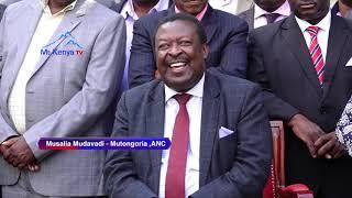 Musalia Mudavadi kuurio arutithanie wira na president  Kenyatta