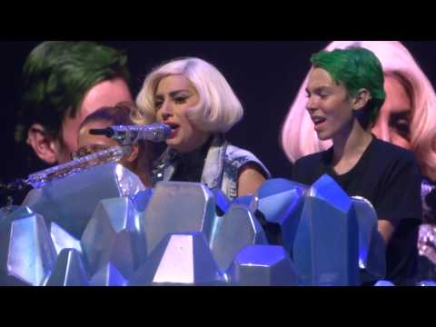 Lady Gaga-Born This Way-Buffalo, NY-7/7/14-w/ tribute to bullying victim Jamey Rodemeyer