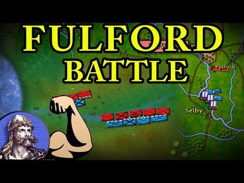 Trận chiến lịch sử Fulford 1066