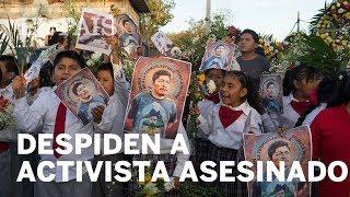 México: Despiden al activista asesinado Samir Flores