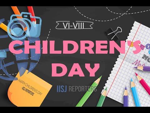 CHILDREN'S DAY   VI-VIII B.S   2019-20