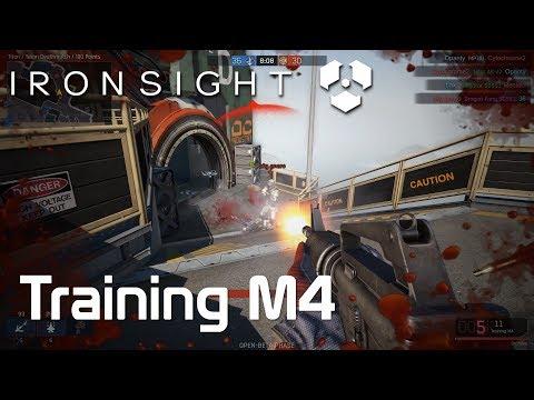 [IRON SIGHT] Training M4 Play Clip - 아이언사이트 훈련용 엠포 (NA Server / 북미서버)