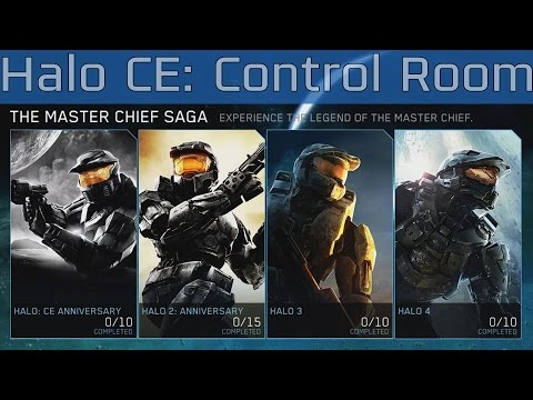 Halo: The Master Chief Collection - Halo CE: Assault on the Control Room Walkthrough [HD 1080P]