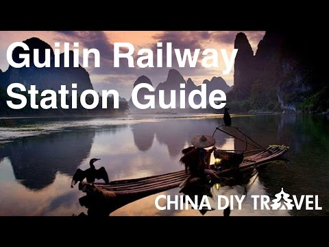 Guilin Railway Station Guide - departure and arrival