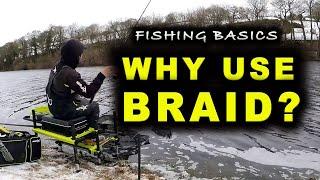 WHY fish with BRAID Fishing Basics Explained